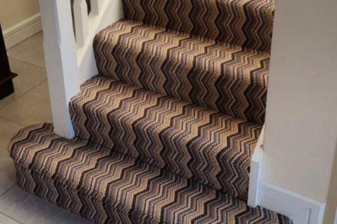 zigzag carpet