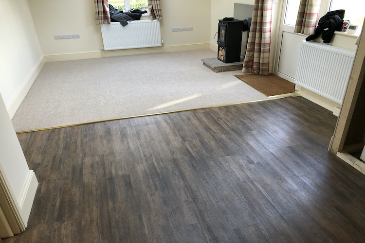 kingston on soar lvt installation