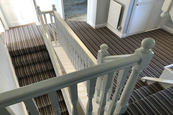 striped carpet by deco stripes