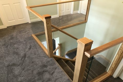 Tranquility by Kingsmead Fitted to Stairs, Landing & Lounge