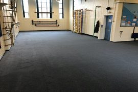 Commercial Carpet Supplied & Fitted to Nottingham School