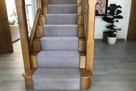 New Ayrshire 50oz Wool Twist Fitted to Stairs, Landing & Bedrooms