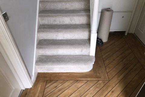 Ruddington Carpet and LVT installation